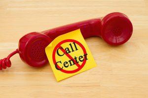 Come non farsi chiamare dai call center